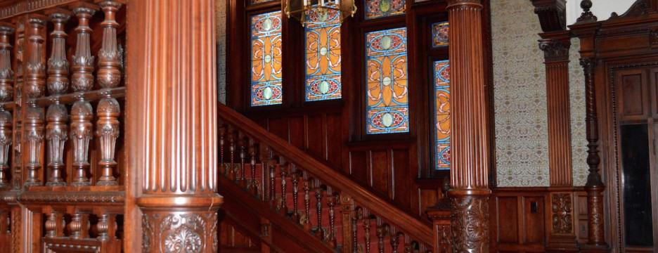 Ames Mansion interior